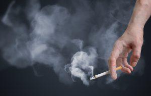Holding Cigarette