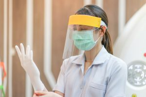 Astoria dentist prepares for appointment in COVID-19 by donning new PPE